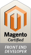 Magento Certified front-end developer